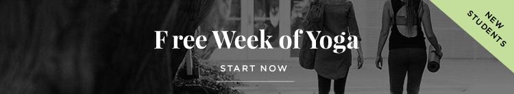 Free Week of Yoga